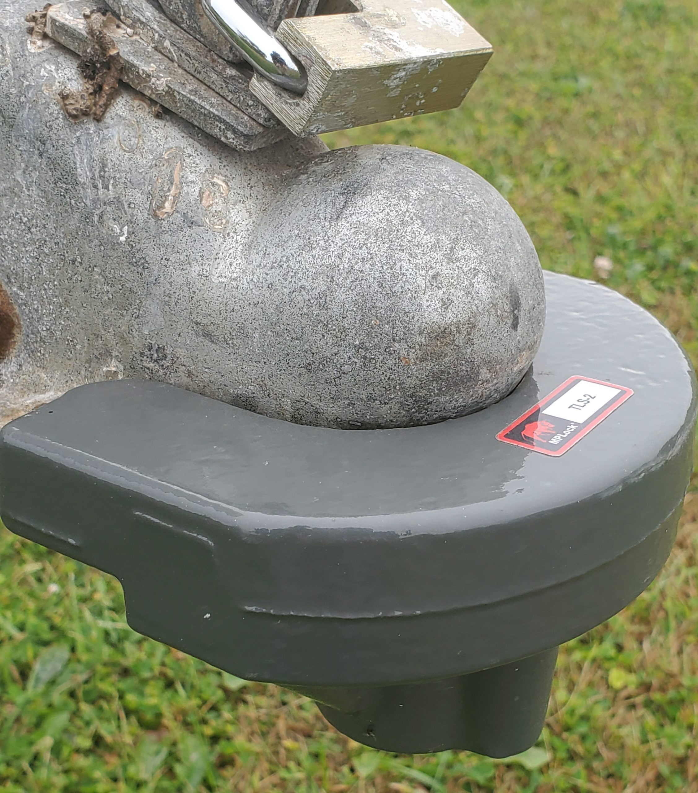 High Security Trailer Coupler Lock by AMP Lock